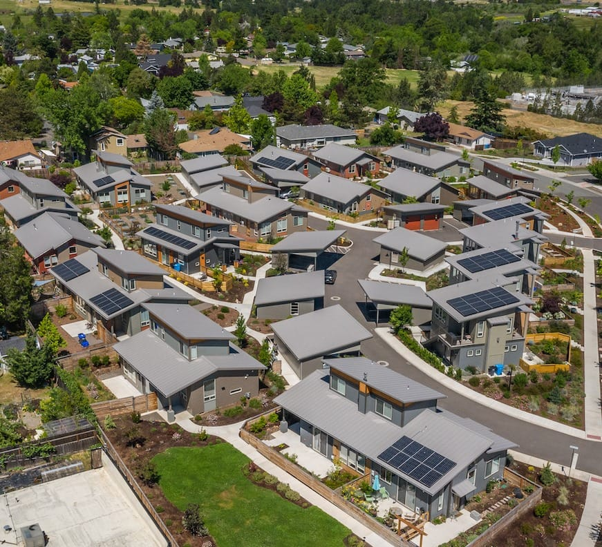 Welcome to Ashland's first zero energy community, Verde Village