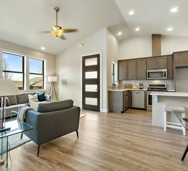 Meadowbrook townhomes street kitchen