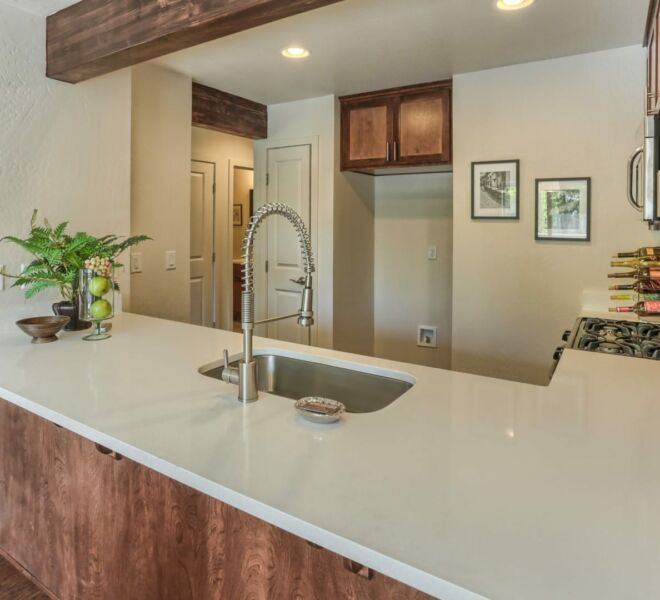 Ridgeview Place kitchen counter