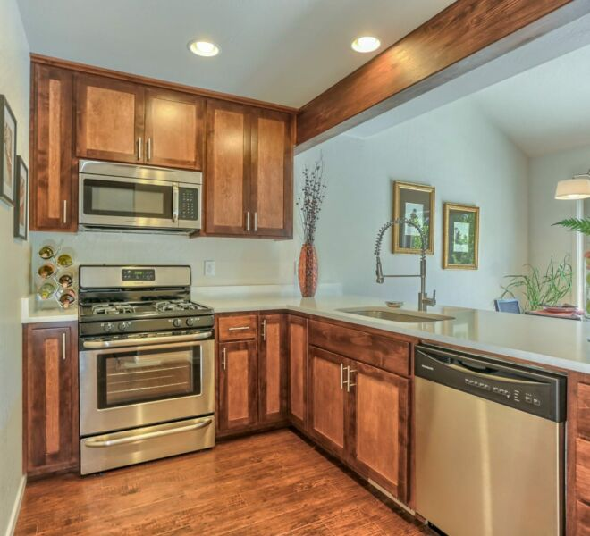 Ridgeview Place kitchen