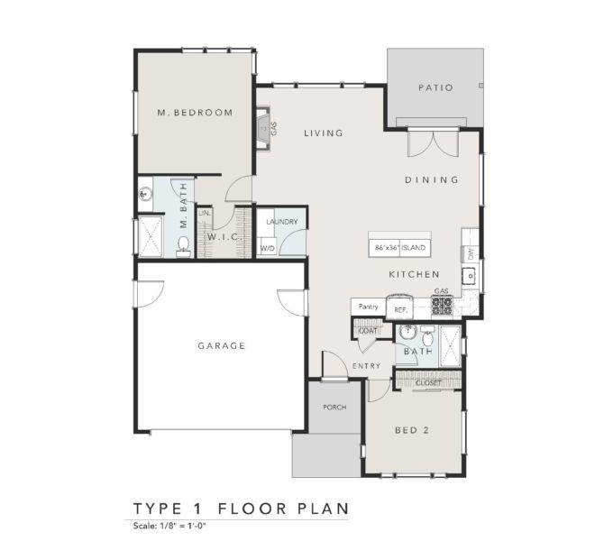 Verde village type 1 floor plan