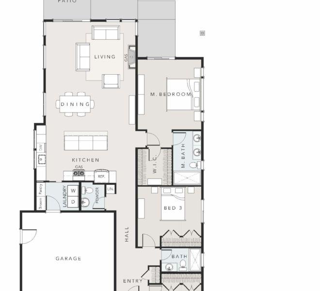 Verde village type 2 floor plan