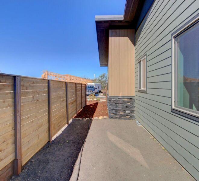 Verde Vilage Phase 2 side yard