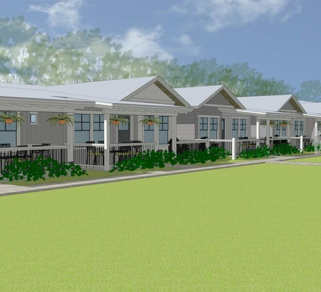 Rendering of The Garden Cottages Community In Ashland, Oregon