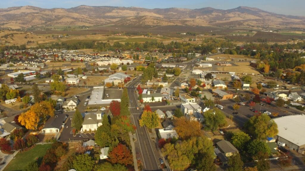 Talent is an up and coming city just two miles from ashland, oregon